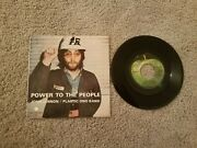 Nm 1971 John Lennon-yoko Ono Beatles And039power To The Peopleand039andnbsp Andnbsp Ps And 45rpmandnbsp