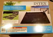 Intex Solar Water Heater Mat For Above Ground Swimming Pool, Black