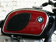 Bmw R90/6l R60/6 R75/6 Gas Petrol Fuel Tank Black And Red  fit For