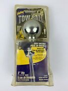 Valley Ind 2 Chrome Trailer Hitch Ball 6000 Lb Tow Ball 50110 1andrdquox 2 7/8andrdquo Shank