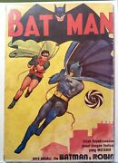 Batman 1 Indonesia Foreign Edition. 1970s Scarce. 4 Copies Known Dc Comics