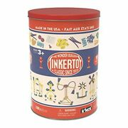 K'nex Tinkertoy Classic Building Tin 100 Pc Collectable Education Building Toy