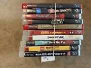 10x Playstation 3 Games Lot Expand Your Collection Fallout Skyrim Dmc