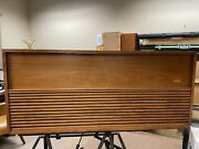 Vintage Mid Century Modern Tube Amp Stereo Console