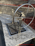 36 Stainless Santa Maria Argentine Drop In Frame Insert   Outdoor Island Grill
