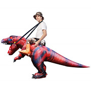 Goosh Halloween Inflatable Dinosaur Costume Child For Tall Air Blow Up Deluxe T