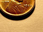 1922 No D Lincoln Cent Die 2 Strong Reverse Nice Au 2