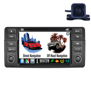 Android Gps Navigation Dvd Radio Stereo Bluetooth With Camera For Bmw 1998-2006