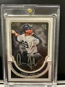 2018 Topps Museum Collection Baseball Aaron Judge Auto 1/15 New York Yankees