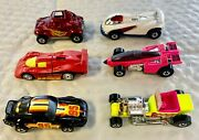 Hot Wheels Set Of Six Vintage Lim'd Edn Diecast Racers New W Animated Vhs Tapes