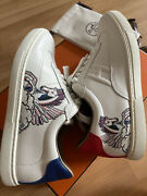 Used Once Women Hermes Sneaker Quicker Pegase Print Size 36. Sold Out