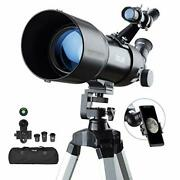 Esslnb Telescopes For Adults Astronomy Beginners Kids 400x80mm With 10x Smartpho