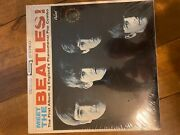 Meet The Beatles St2047 Gold Record Award Lp W/original Shrink Wrap And Price Tag.
