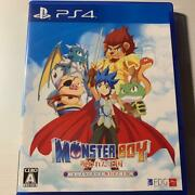 Ps4 Monster Boy Cursed Kingdom Playstation 4 Sony Arc System Works From Japan