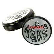 Motorcycle Gas Caps For Harley Davidson Years 1973 To 1982 - F Gas Series -black