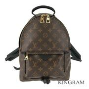 Louis Vuitton Monogram Palm Springs Backpack Pm M41560 Pvc Backpack From Japan