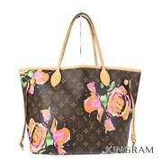 Louis Vuitton Monogram Rose Neverfull Mm M48613 Pvc Womenand039s Tote Bag From Japan