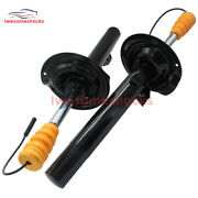 New Pair Front Air Suspension Strut Damper With Edc For Bmw E38 740i 740il 750il