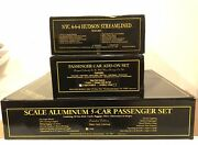 Weaver O Scale Brass 2 Rail Nyc Dreyfuss Hudson Locomotive And Tender W 7 Coaches