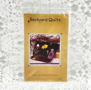 Craft Pattern - Backyard Quilts - Wool Rotary Cutter Case - From 2002