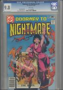 Doorway To Nightmare 2 Cgc 9.8 1978 Dc Comics Gerry Conway Story Make An Offer
