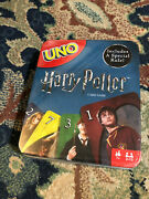 Mattel Uno Harry Potter Games Uno Card Game Mattel Cards In Tin Box New