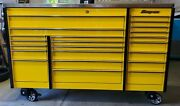 Snap-on Krl 1023cpd04 Roll Cabinet Tool Box W/stainless Steel Power Top