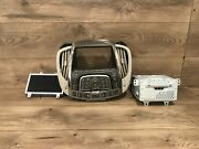 10_2012 Buick Lacrosse Radio Display Screen Bezel Climate Switch Vent Face Oem