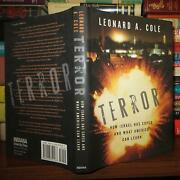 Cole Leonard A. Terror How Israel Has Coped And What America Can Learn 1st Edit