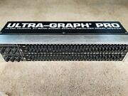 Behringer Geq3102 Ultra-graph Pro 31-band Graphic Equalizer Recapped Near Mint