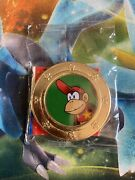 Super Mario Frankford Wonder Ball Collectable Coin - Diddy Kong - Sealed