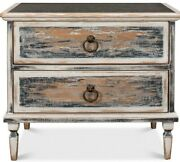 Bedside Chest Dresser Old Reclaimed Wood French Farmhouse Transitional