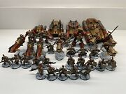 Lot 1 Warhammer 40k Adeptus Custodes Army Painted Ready To Go