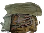 Lc-1 Large Alice Field Pack Backpack W/ Metal Frame Army Us Military And Wp Bag