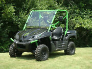 Kawasaki Teryx 750 Scratch Resistant Lexan Windshield W/ Quick Clamps And Vents