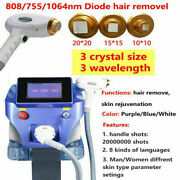 1064/755/808nm Permanent Diode Laser Body Facial Hair Removal Beauty Machine 4px