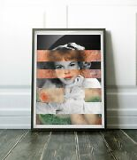 Renoir's Jeanne Samary In Low Necked Dress And Judy Garland- Poster Canvas Artwork