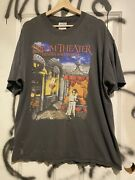 Vintage 90s Dream Theater Single Stitch Shirt Xl Images And Words Heart Tee Rsre