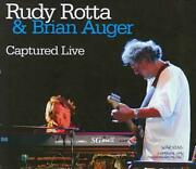 Rudy Rotta Band/brian Auger - Captured Live Used - Very Good Cd