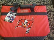 New Coleman Nfl Tampa Bay Buccaneers Grocery Getter Insulated Tote 40 Can Red