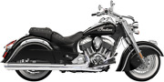 Bassani 4 Performance Slip-on Mufflers With Polished End Cap 8v17s