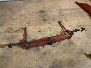 Wheel Horse Tractor Mower Toro Front Axle W/spindles And Tie Rods 416-8 711e