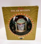 Santaand039s Workshop Deluxe Solar Motion Ornament Christmas Traditions 6