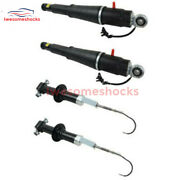 4pc Front Rear Air Suspension Shock Absorber For Cadillac Escalade Yukon 15-19