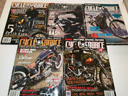 Lot Of  Cycle Source Magazine Motorcycle Chopper Magazines