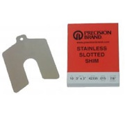 Oatey 42250 Shim Stock .050 2x2 Stainless Steel Slotted Pack Of 5