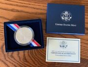 2004-p Lewis And Clark Bicentennial Proof Silver Dollar W/box And Coa