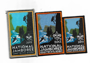 Boy Scout 2013 National Jamboree 3 Patches All New Middle One Is Hard To Get