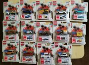 Tomica Tomy Walmart Exclusive Highly Detailed Die Cast Collectible Lot Of 14...