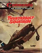 Commando War Stories In Pictures 1809 Vg/fn 5.0 1984 Stock Image Low Grade